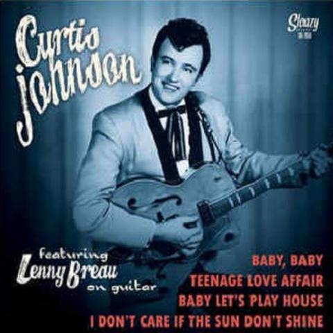 "CURTIS JOHNSON feat LENNY BREAU/On GUitar(7"")"