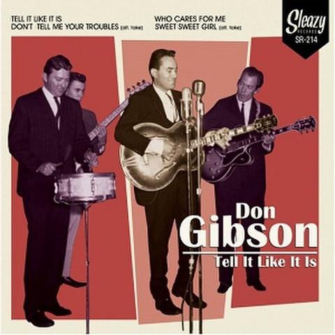 "DON GIBSON/Tell It Like It Is(7"")"