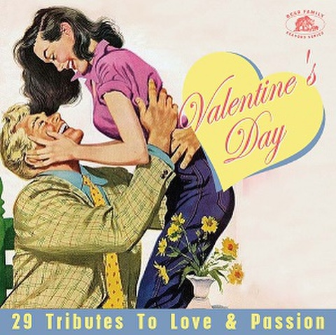 VALENTINE'S DAY: 29 Tributes To Love & Passion(CD)