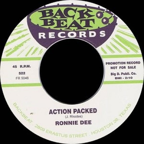 """RONNIE DEE/Action Packed(7"""")"""