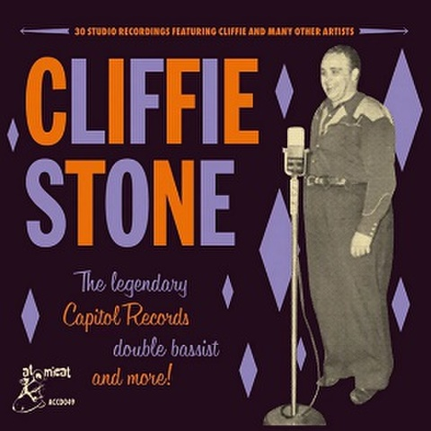 CLIFFIE STONE/The Legendary Capitol Recordings Double Bassist And More(CD)