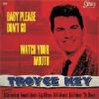 "TROYCE KEY feat:EDDIE COCHRAN/Baby Please Don't Go(7"")"