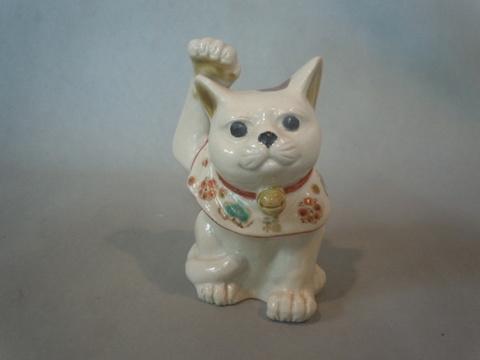 3号招き猫 仁清  宮本直樹作