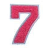 シニール3inch丸型「7」濃ピンク/サックス/― ランク新品