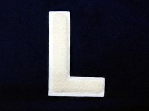 シニール4inch丸型「L」オフ白/オフ白/- ランクA