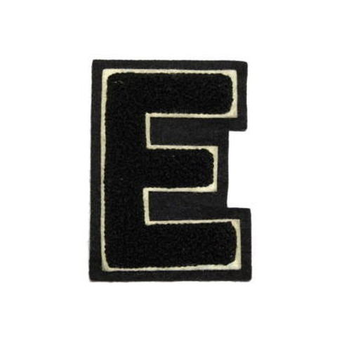 シニール3inch角型「E」黒/白/黒 ランクC