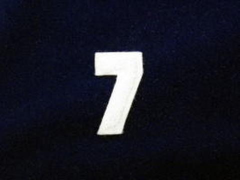シニール1.5inch角形「7」オフ白/オフ白/- ランクB