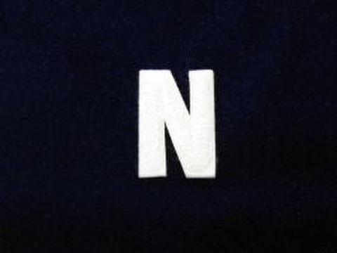 シニール1.5inch角形「N」オフ白/オフ白/- ランクB