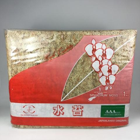 ニュージランド産AAA(3A)水苔 1kg