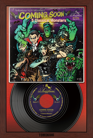 『5Classical Monsters (a 45 ver.)』ポストカード