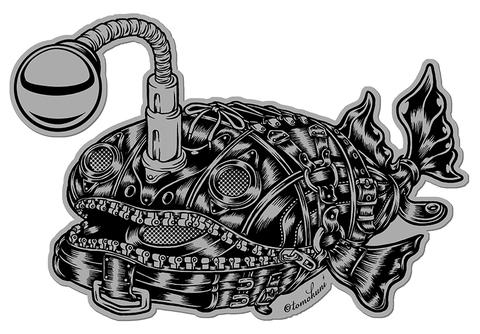『Black AtlanticFootballfish』ステッカー