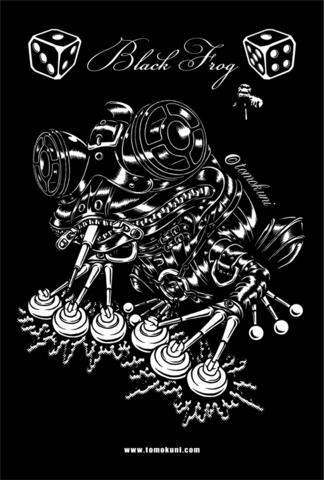 『Black Frog』ポストカード