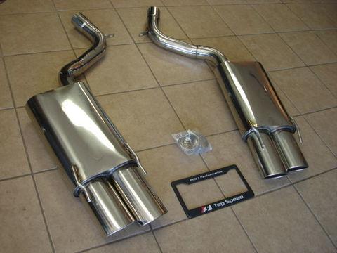 TSP1 W221 S350/S500/S550/S600 アクセルバックマフラー