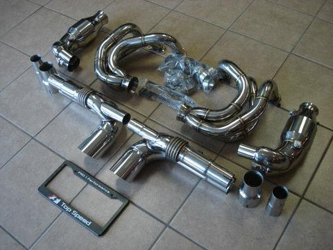 TSP1 997 GT3/RS レーススペックマフラー