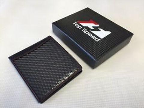 TSP1 カーボン&レザー ウォレット/財布 Bi