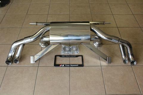 TSP1 R8 5.2L V10 09-13 レーススペックマフラー
