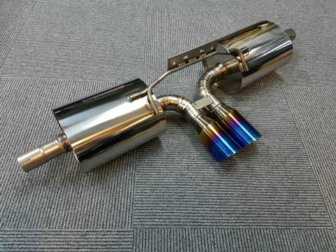 TSP1 986 ボクスター フルチタンマフラー