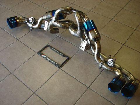 TSP1 フェラーリ 430 フルチタンマフラー Ver.2