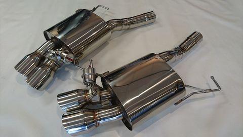 TSP1 BMW F12 F13 650i アクセルバックマフラー