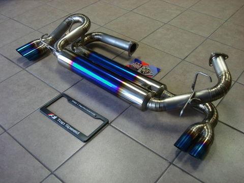 TSP1 NSX フルチタン クアッドマフラー