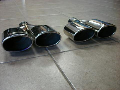 TSP1 AMGスタイル クアッドマフラー