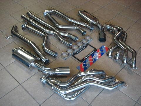TSP1 カマロ SS 6.2L V8 エキマニ+マフラー