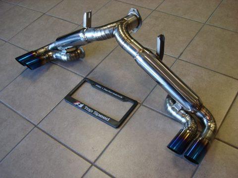 TSP1 フェラーリ 355 フルチタン マフラー SP