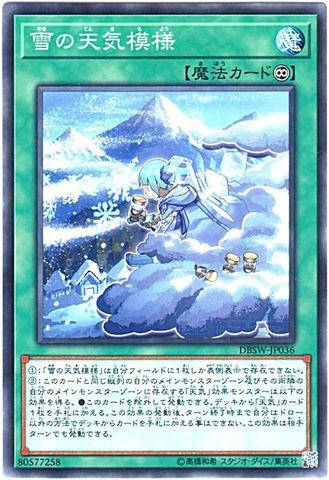 雪の天気模様 (N/N-P/DBSW-JP036)
