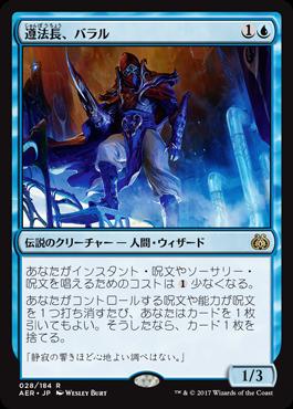 遵法長、バラル/Baral, Chief of Compliance/AER-028/R/青