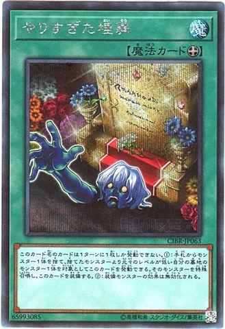 やりすぎた埋葬 (Secret/CIBR-JP063)①装備魔法
