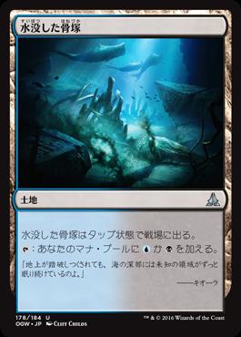 水没した骨塚/Submerged Boneyard/OGW-178/U/土地