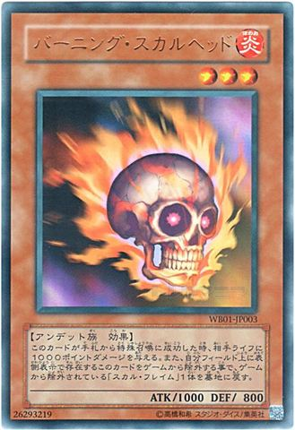 バーニング・スカルヘッド (Ultra)③炎3