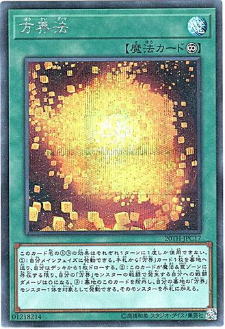 方界法 (Secret/20TH-JPC17)・20thLC①永続魔法