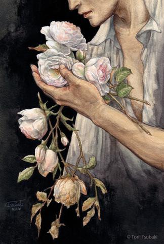 【SOLD OUT】ポストカード「薔薇の花をひとたび摘めば」