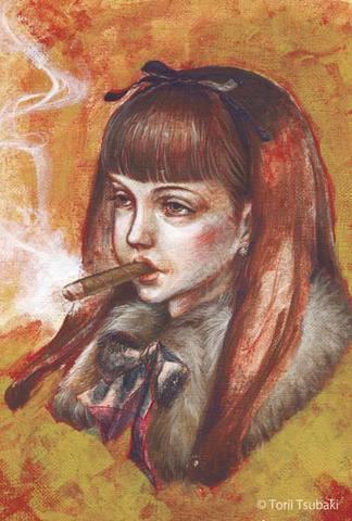 ポストカード「Cigar」