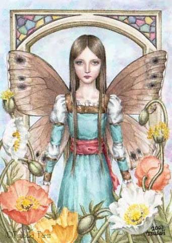 ポストカード「妖精」