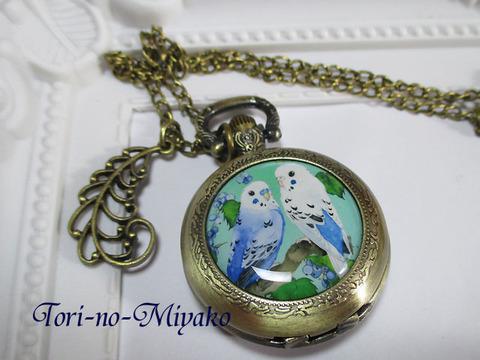 <オリジナル>懐中時計!羽ばたく時刻