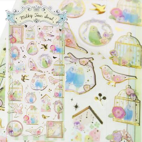 <CLUX>朝を歌う小鳥たち ミルキーティアシール