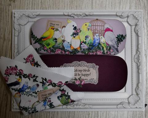 <オリジナル>メガネケース!羽根の園のお喋り集会2個セット