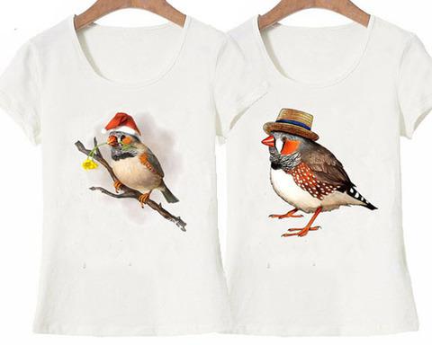 Tシャツ!キンカチョウ