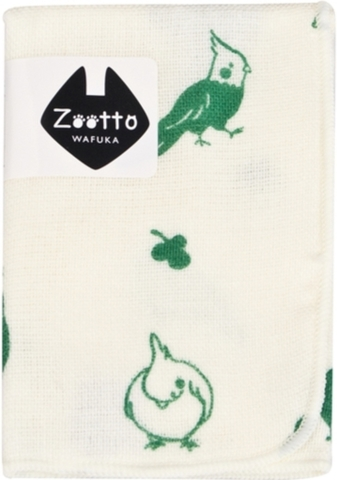 <zootto>タオルハンカチ! オカメインコ
