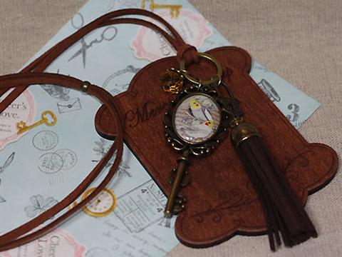 <オリジナル>紐ネックレス!鍵