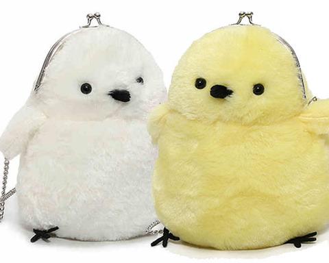 鳥型ショルダーバッグ