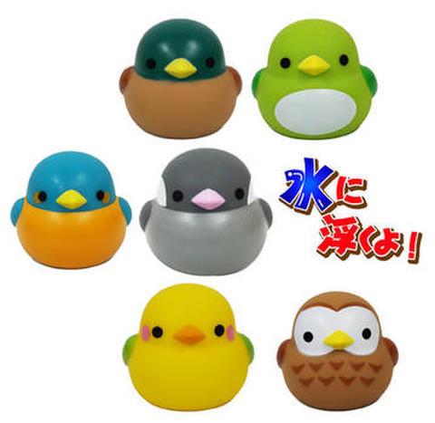 <鳥のおもちゃ>ぷかぷかことりちゃん3個セット