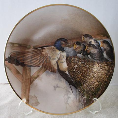 飾り皿!燕