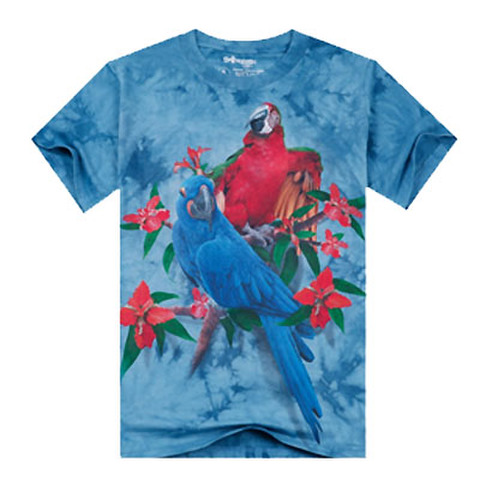 メンズTシャツ!コットン!インコ