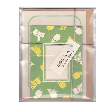 <伊予和紙>メッセージカード!オカメインコ