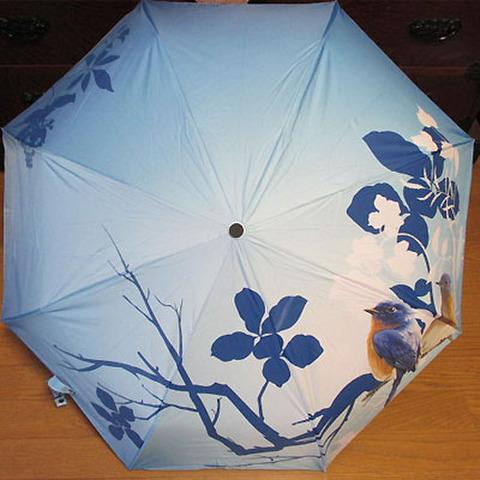 折りたたみ傘!ブルーバード