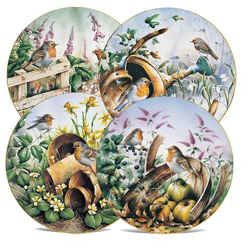 <DM>飾り皿!四季・駒鳥