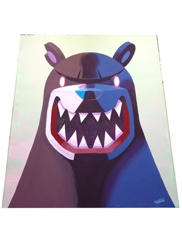 KNUCKLE BEAR BLUE SHADOW AND LIGHT